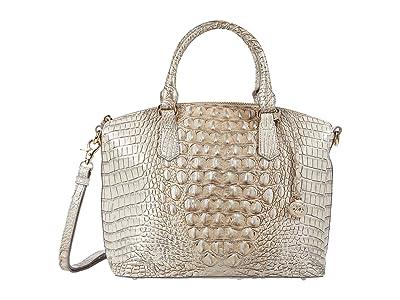 Brahmin Melbourne Duxbury Satchel (Sterling) Satchel Handbags
