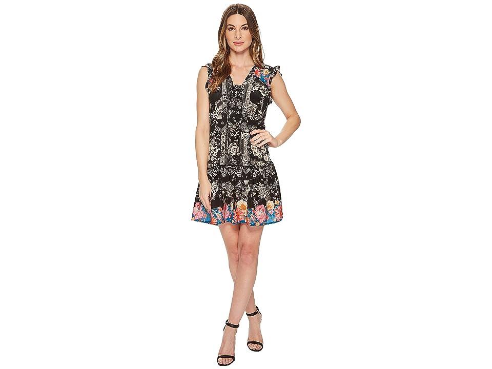 Tolani Daya Sleeveless Dress (Onyx) Women