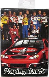 2002 NASCAR Coca Cola Racing Family Playing Cards Park 1, Elliott 9, Waltrip 15, Labonte 18, Stewart 20, Harvick 29, Andretti 43, Petty 45, Jarrett 88, Burton 99