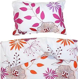 130200f681720 Les Fleurs Coquettes - Pati Chou 100% Coton Linge de lit pour bébé (