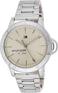 Tommy Hilfiger Diver Women's Cream Dial Stainless Steel Band Watch - 1782026