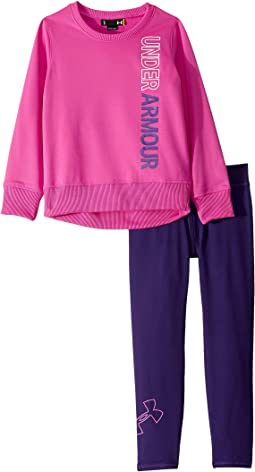 Wordmark Tunic Set (Little Kids)