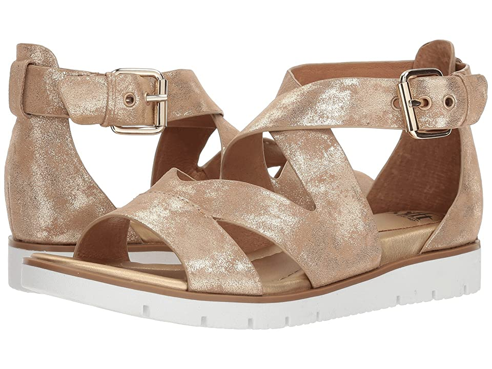 Sofft Mirabelle (Platino Distressed Foil Suede) Women