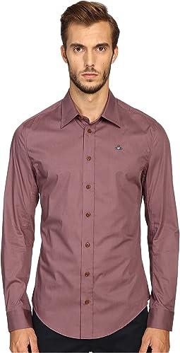 Basic Stretch Poplin Shirt