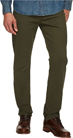 Lucky Brand 121 Heritage Slim in Forest Night