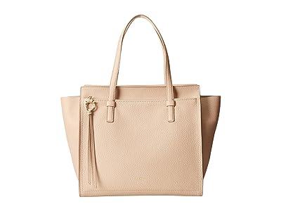 Salvatore Ferragamo Amy Tote Bag (New Bisque) Handbags