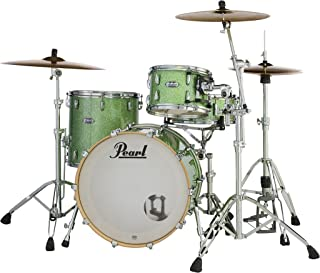 Pearl Masters Maple Complete MCT943XP/C348 3 Piece Drum Shell Pack, Absinthe Sparkle