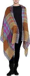 Kashfab Gemacht im Kashmir Sammlung von Wolle Seide Herbst Winter 2019-20 Pr/üfen Streifen Unisex Damen Herren Pashmina Schal Schal