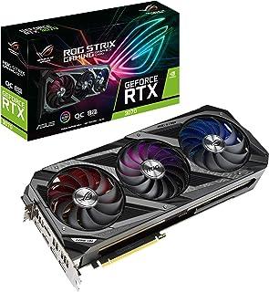 ASUS ROG STRIX NVIDIA GeForce RTX 3070 Gaming Graphics Card (PCIe 4.0, 8GB GDDR6, HDMI 2.1, DisplayPort 1.4a, Axial-Tech F...