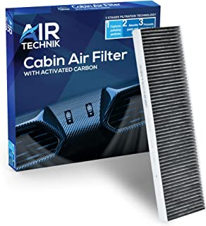 AirTechnik CF10733 Cabin Air Filter w/Activated Carbon | Fits Mini Cooper 2007-2015, Countryman 2011-2016, Paceman 2013-2016