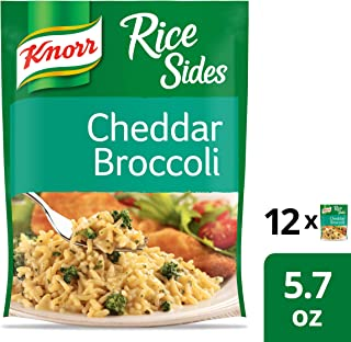 Knorr Rice Side Dish for a Tasty Rice Side Dish Cheddar Broccoli with No Artificial..