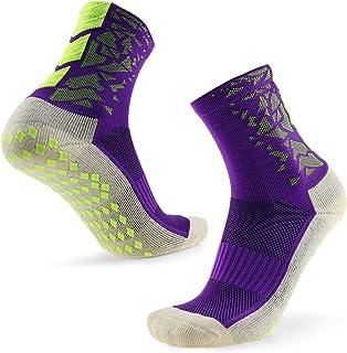 1 Pares/3 Pares Calcetines de Baloncesto Antideslizantes para Hombres Calcetines de Agarre Deportivo Calcetines Largos Deportivos para Baloncesto Voleibol de Fútbol Correr Trekking Senderismo