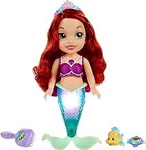 Disney Princess Colors of The Sea Ariel with Bonus Hair Play Pieces [Amazon Exclusive]