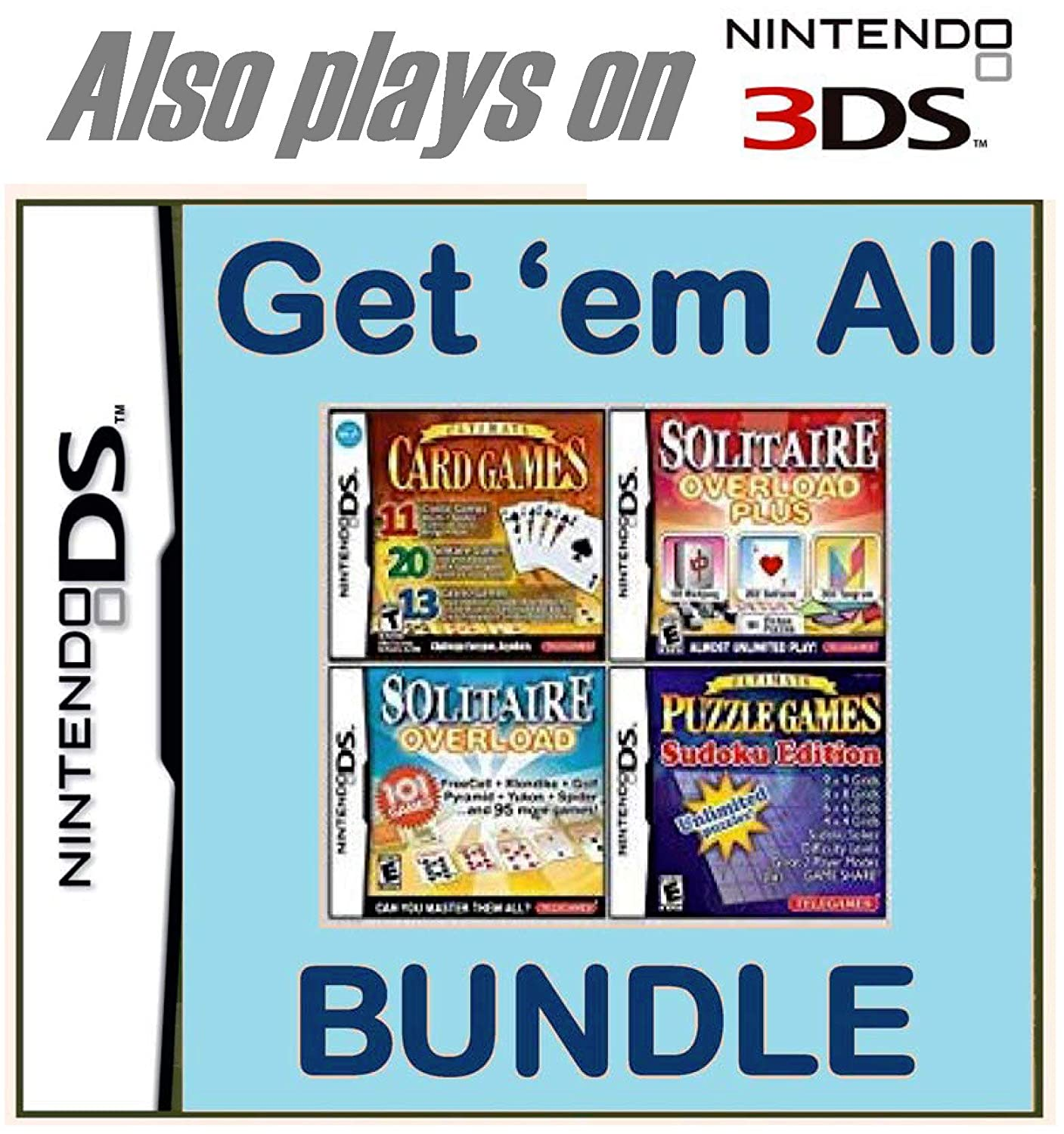 Get-'em-All Bundle for Max 82% OFF Free shipping on posting reviews Nintendo DS