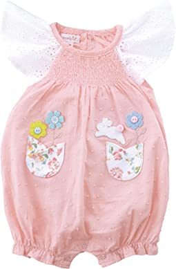 Easter Bunny Smocked Bubble (Infant)