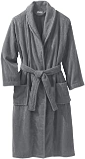 Men's Big & Tall Terry Bathrobe with Pockets