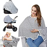 dab7e1a3d3b Baby Nursing Cover   Nursing Poncho - Multi Use Cover for Baby Car Seat  Canopy