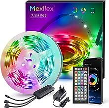 Ledstrip, 7,5 m, RGB, led-lichtsnoer, lichtstrip met afstandsbediening, led-verlichting, lijst, band voor kastdecoratie, f...
