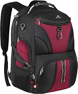 Matein Laptop Backpack for Women, Large Travel Laptop Backpack for Grils Men with USB Port, Anti Theft TSA Friendly Water ...