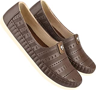 Camfoot-9037 Brown Exclusive Range of Loafers Shoes for Women
