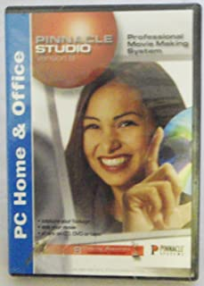 Pinnacle Studio Version 8 (NOS (new old stock) for older PCs)