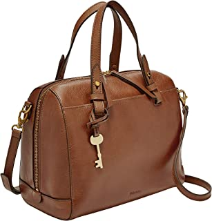 Fossil Rachel Satchel Medium Brown