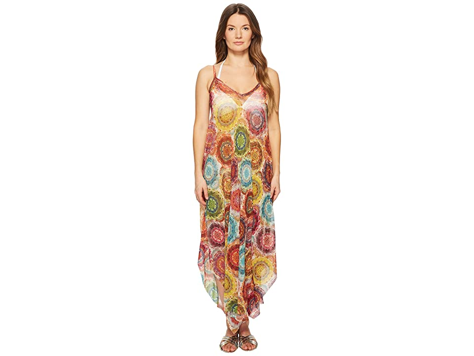 FUZZI Printed Oversized Dress Cover-Up (Lima) Women