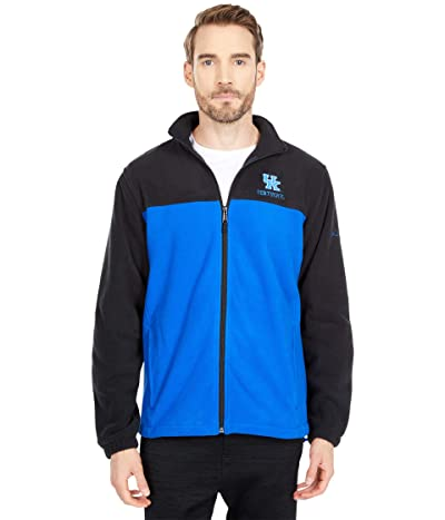 Columbia College Kentucky Wildcats Flankertm III Fleece Jacket (Black/Azul) Men