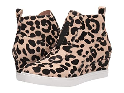 LINEA Paolo Anna 3 (White/Black Leopard Print Haircalf) Women
