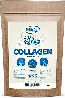 Wehle Sports Collageen poeder, 500 g, collageen, hydrolysaat peptide, eiwitpoeder, smaakneutraal, made in Germany, collage...