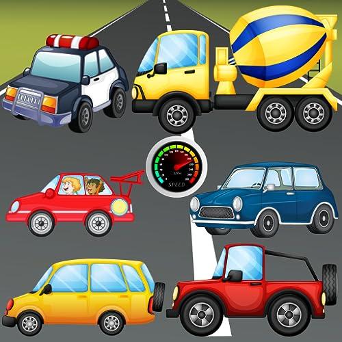 Puzzle für Kleinkinder - Fahrzeuge, Autos und Lastwagen ! Pädagogische Puzzle Spiele - KOSTENLOS Spiel