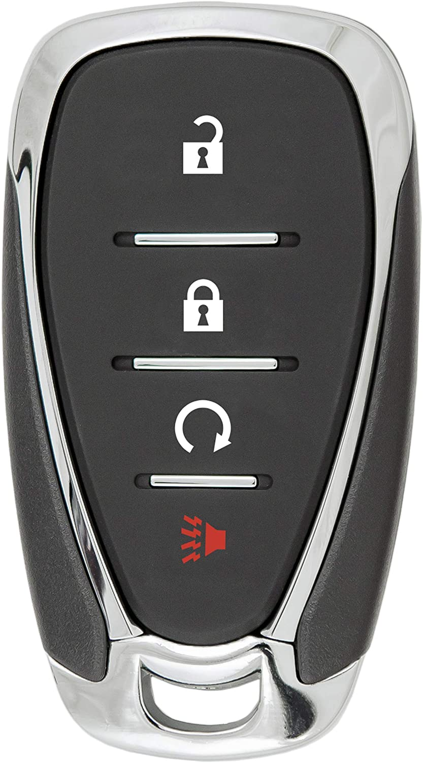 Keyless2Go Replacement for 4 Button Proximity Smart Key for Chevrolet HYQ4EA 13585728