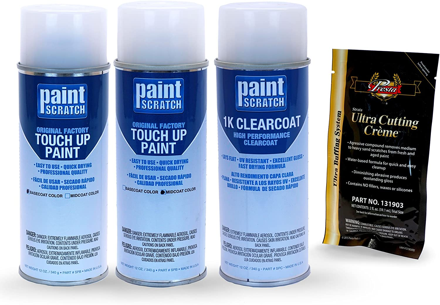 PAINTSCRATCH Quantity limited Touch Up Paint Tricoat Baltimore Mall Car Repair Spray Can Scratch