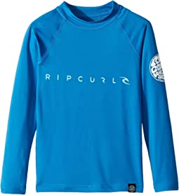 Rip Curl Kids - Dawn Patrol UV Tee Long Sleeve (Big Kids)
