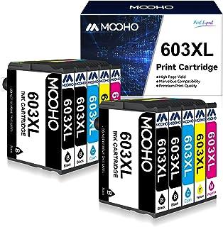 MOOHO 603 XL Cartucho de Tinta Compatible para Epson 603XL Reemplazo para Expression Home XP-2100 XP-3100 XP-4100 XP-2105 ...