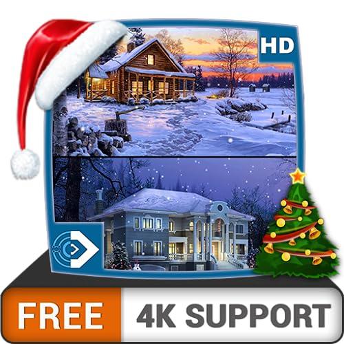 nevadas virtuales HD gratuitas: disfrute del hermoso paisaje en su TV HDR...