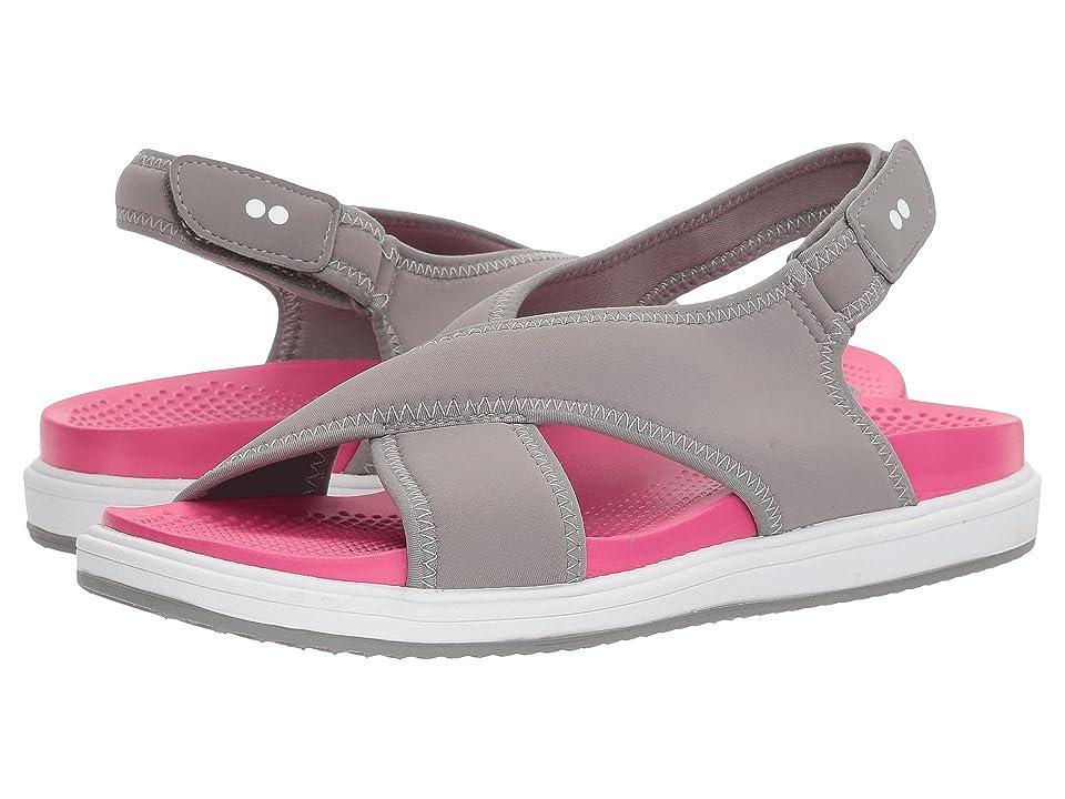 Ryka Leisure (Frost Grey/Hyper Pink) Women