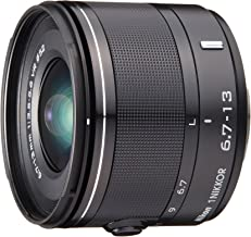 6.7-13mm f / 3.5-5.6 Black Nikon CX Format Nikon Dedicated Ultra-Wide-Angle Zoom Lens 1 NIKKOR VR