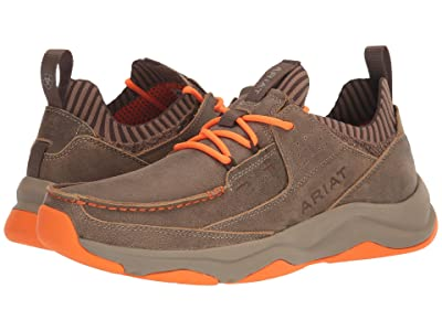 Ariat Country Mile (Brown Bomber/Orange) Men