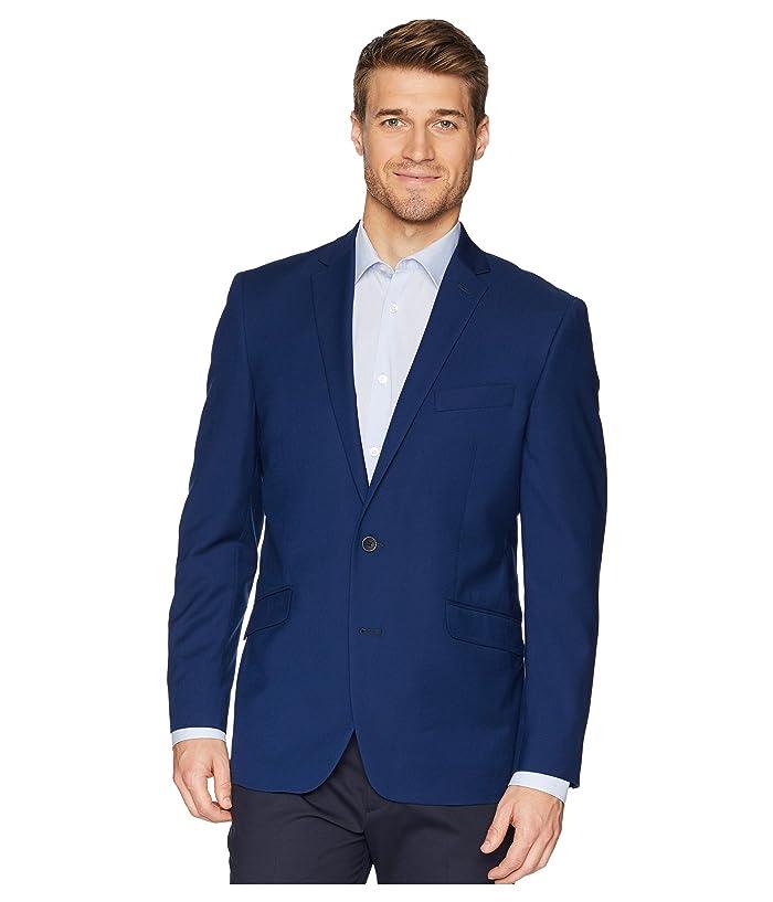 Kenneth Cole Reaction  Techni-Cole Stretch Suit Separate Blazer (Modern Blue) Mens Jacket