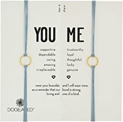Dogeared - Friendship Sparkle Ring Bracelet Set