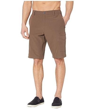Volcom SNT Dry 21 Cargo Shorts (Vintage Brown) Men
