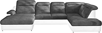 Amazon.com: TIMOTI XL Sleeper Sectional Sofa, Right Corner ...