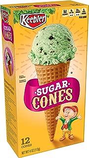 Keebler Ice Cream Cones, Sugar Cones, 4 oz (12 Count)