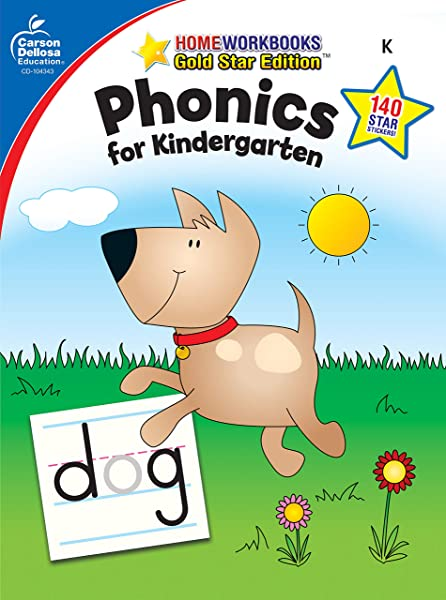 Phonics For Kindergarten Grade K Home Workbook