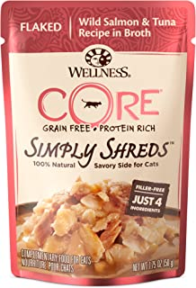 Wellness Core Simply Shreds Grain Free Wet Cat Food Mixer Or Topper (Case Of 12)