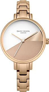 Daisy Dixon Womens Analogue Classic Quartz Watch with Stainless Steel Strap DD065RGM