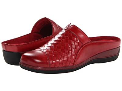 SoftWalk San Marcos (Dark Red Burnished Veg Leather) Women