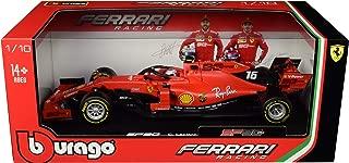 Ferrari SF90#16 Charles Leclerc F1 Formula 1 (2019) 1/18 Diecast Model Car by Bburago 16807 CL
