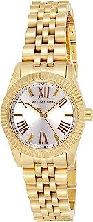 ساعة مايكل كورس ليكسينغتون بيضاء للنساء بسوار من الستانلس ستيل - MK3229